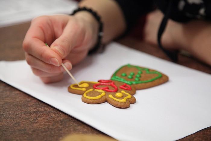 Роспись имбирного печенья мастер класс